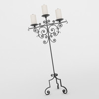 Floor Candle Holder 10