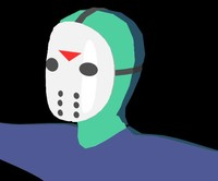Cartoon Jason Voorhees