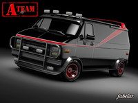 A-Team GMC van
