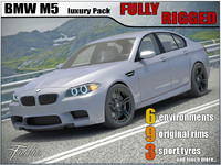 BMW M5 2012 luxury pack
