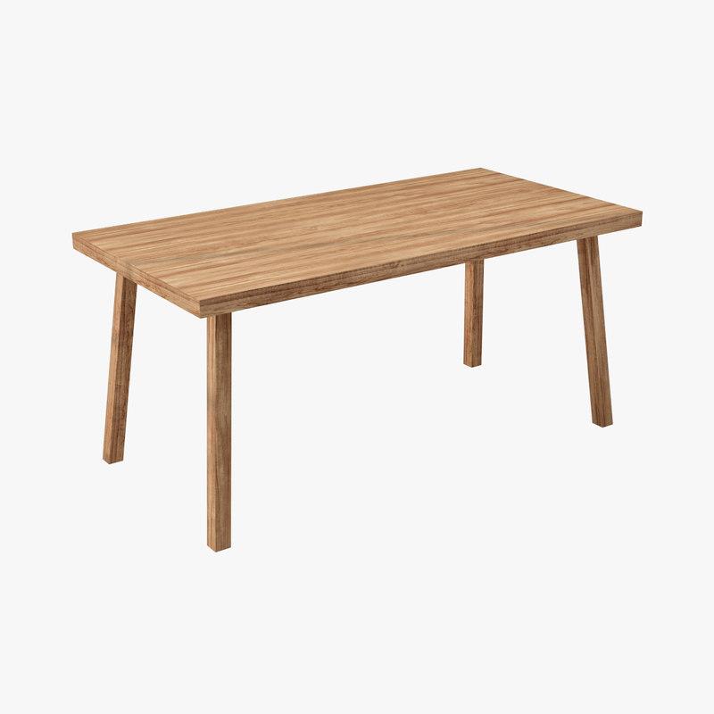 3d boconcept architectural visualization model for Boconcept dining table