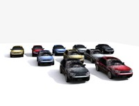 3d model vehicles cars