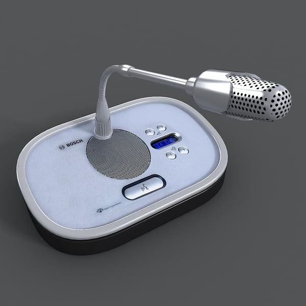 bosch discussion 3ds - Microphone Conference Wireless... by vgreso