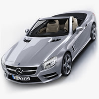 3d mercedes-benz sl 2012