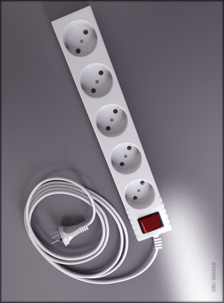 3ds max powerstrip power strip - powerstrip... by abumoaaz