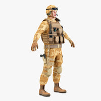 SAS Soldier Static