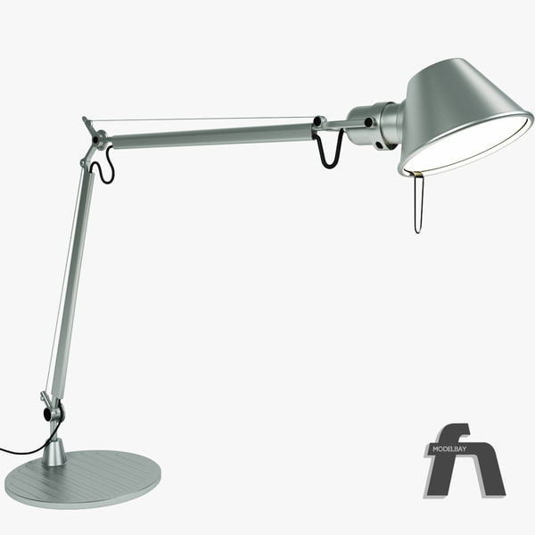 3d model lamps desk artemide - Detailed Lamp Collection... by modelbay