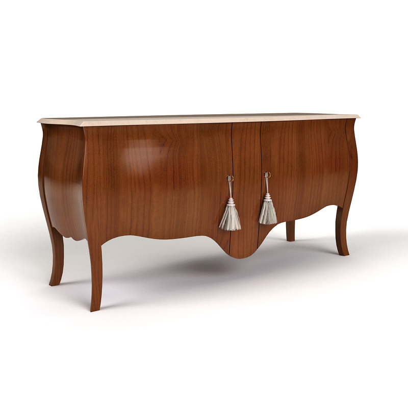 3d sideboard giusti portos model for Sideboard 3d