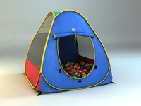 child tent magic 3d max