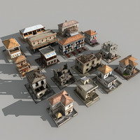 Coast Buildings Pack