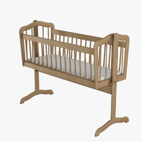 3d 3ds swinging crib