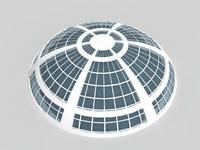 Futuristic Building Planetarium