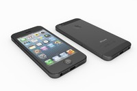 3d model of apple iphone 5
