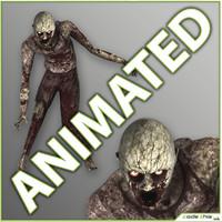 3d model realtime zombie