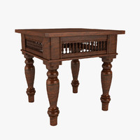 Maharaja End Table