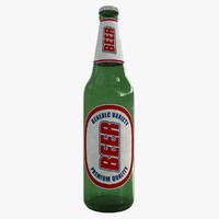 maya generic beer bottle