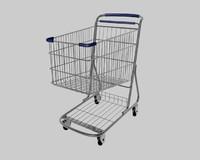 shopping cart c4d