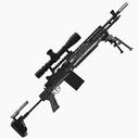 M14 Rifle 3D models