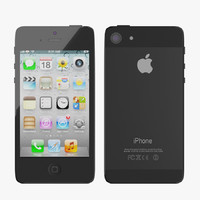 iphone 5 phone 3d 3ds