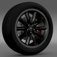 Ford Mustang Boss 302 2012 wheel
