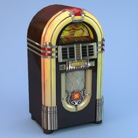 Jukebox low poly