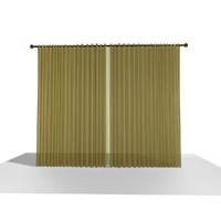 3d model curtain 15