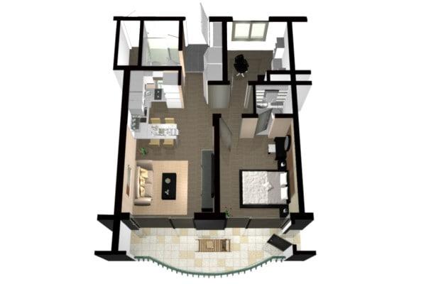 Blender Floor Plan House