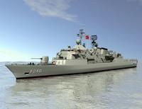 3ds max meko frigate yavuz class