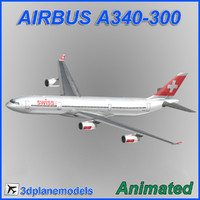 Airbus A340-300 Swiss International Air Lines