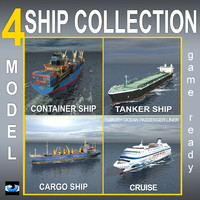 4 Ship Collection