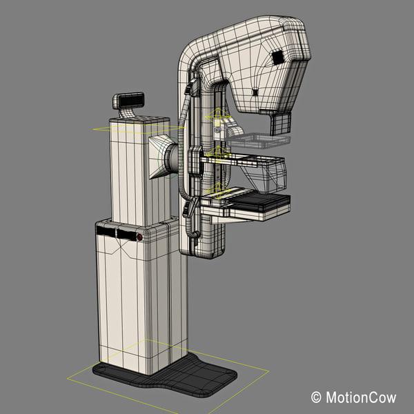 3d Model Mammography Mammogram