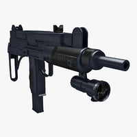 Mini Uzi Sub Machine Gun V2