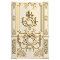 classic wall decor 3d model