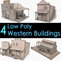 Western Buildings Collection V