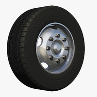 3dsmax rim wheel bus
