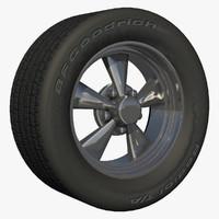 front rim stock wheel