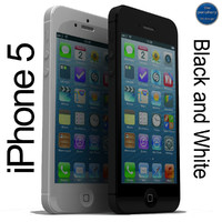 iPhone 5 Black and White