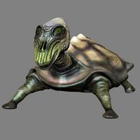 3d 3ds turtle