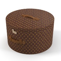 Louis Vuitton Vintage Bonnet Box