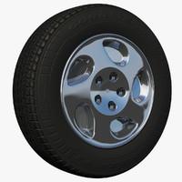 3d rim sedan peugeot wheel model