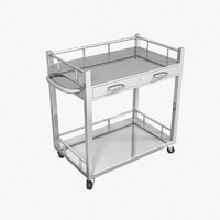 Medical Dispensing Cart