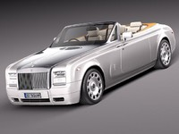 3d model rolls royce rolls-royce phantom