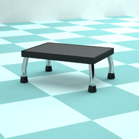 model metal hospital stool