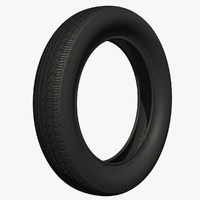 3ds max rubber tire wheel
