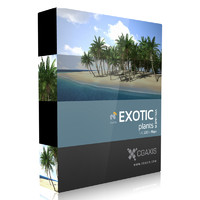 CGAxis Models Volume 15 Exotic Plants LXO