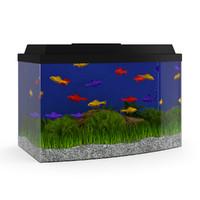 3d aquarium model