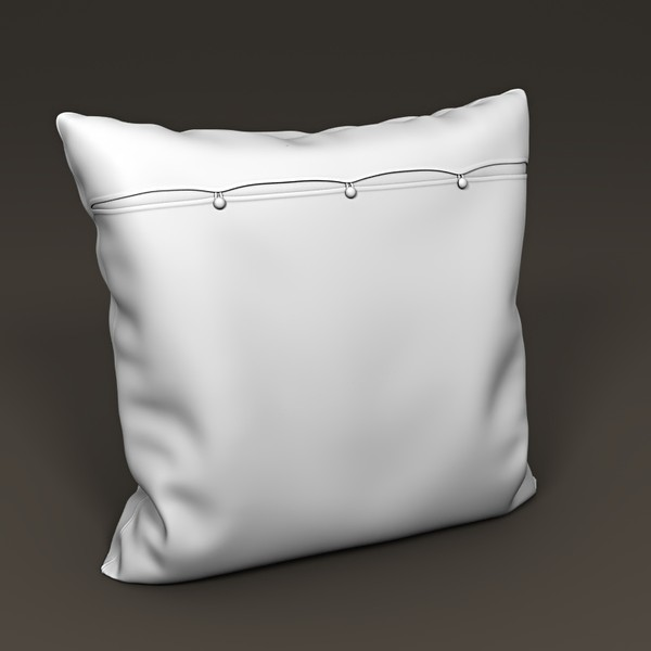3d pillow interior model - Pillow 09... by btbt