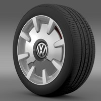 VW Beetle Design 2012 wheel
