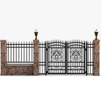 Wrought Iron Gate 14