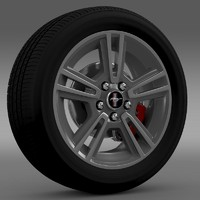 Ford Mustang 2013 wheel